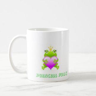 Princesa Frog Taza Básica Blanca