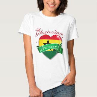 Princesa ghanesa camisas