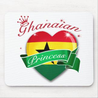 Princesa ghanesa mouse pad