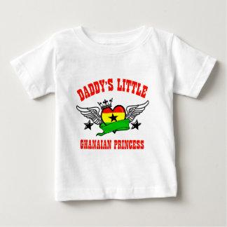 Princesa ghanesa playera de bebé