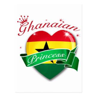 Princesa ghanesa postal