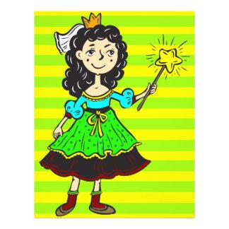 """Princesa Girl Folleto 8.5"""" X 11"""""""