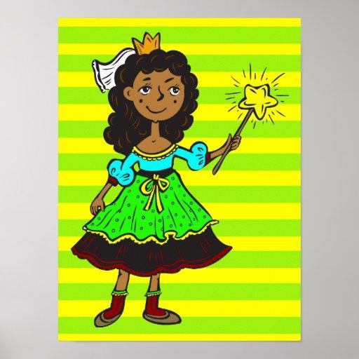 Princesa Girl Poster