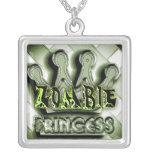 Princesa Goth Necklace del zombi Joyerias Personalizadas