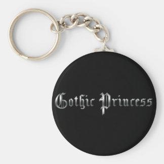 Princesa gótica llavero personalizado