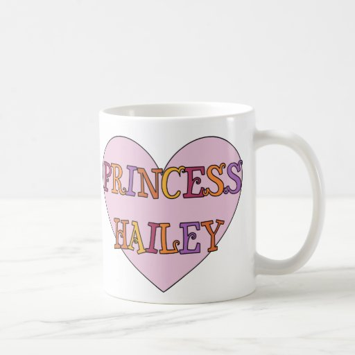 Princesa Hailey Taza