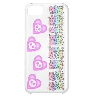 Princesa Hearts y caso del iphone 5 de las chispas