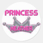 Princesa Heather Etiqueta