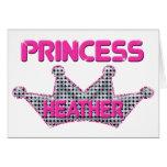 Princesa Heather Felicitación