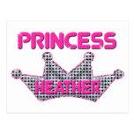 Princesa Heather Tarjetas Postales