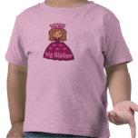 Princesa hermana grande camisetas