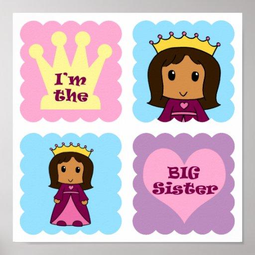 Princesa hermana grande póster