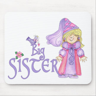 Princesa hermana grande tapete de ratones