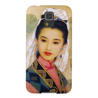 Princesa hermosa joven china fresca Guo Jing Carcasa Galaxy S5