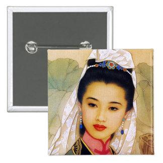 Princesa hermosa joven china fresca Guo Jing Pin