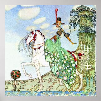 Princesa hermosa Minotte de Kay Nelsen Poster