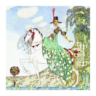 Princesa hermosa Minotte de Kay Nielsen Impresión En Lienzo Estirada