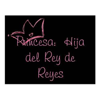 Princesa:  Hija del Rey de Reyes Postcard