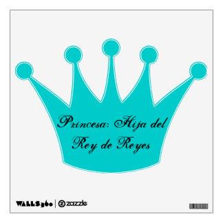 Princesa: Hija del Rey de Reyes Wall Sticker