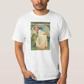 Princesa Hyacinth T-shirt de Alfonso Mucha Remera