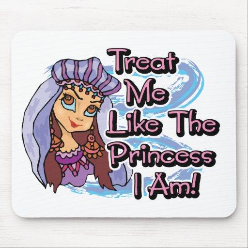 Princesa I Am de la invitación Tapete De Raton