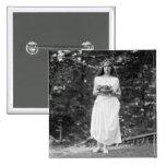Princesa Ida Cantacuzene: 1922 Pin Cuadrada 5 Cm