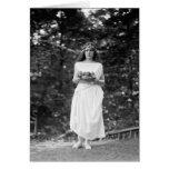 Princesa Ida Cantacuzene: 1922 Tarjeta De Felicitación