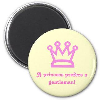 Princesa Imán De Frigorífico