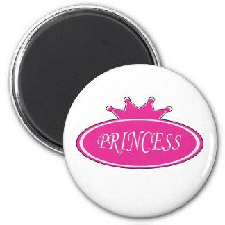 Princesa Imán Redondo 5 Cm