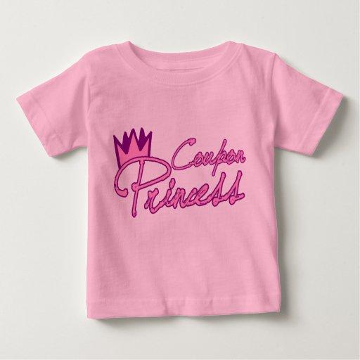 Princesa Infant Shirt de la cupón Playera De Bebé