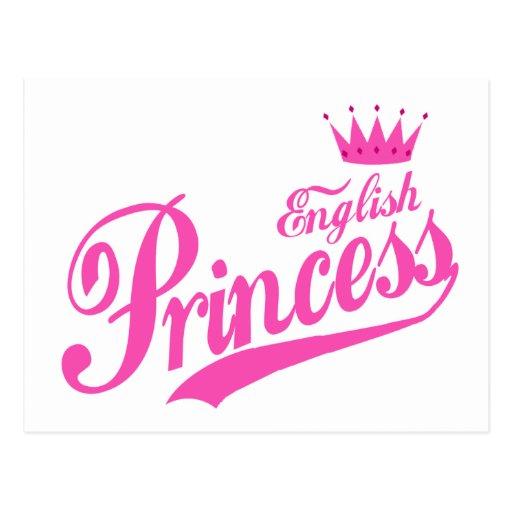 Princesa inglesa postales