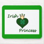 Princesa irlandesa alfombrillas de raton