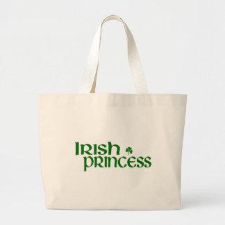 Princesa irlandesa bolsa tela grande