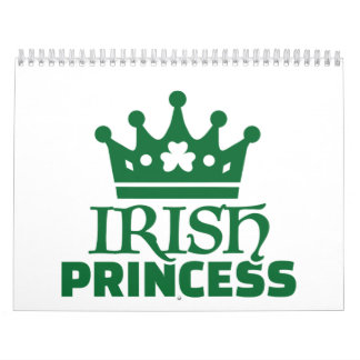 Princesa irlandesa calendarios de pared