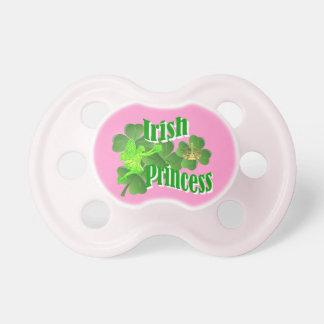 Princesa irlandesa chupetes