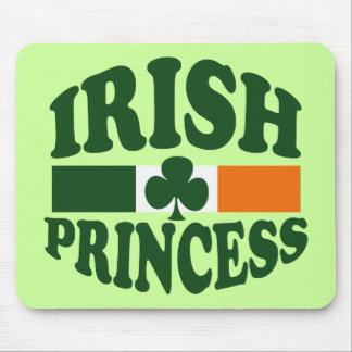 Princesa irlandesa clásica tapetes de raton