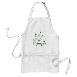 Princesa irlandesa delantal