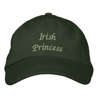 Princesa irlandesa Embroidered Cap gorra Gorra Bordada