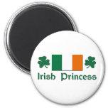 Princesa irlandesa imán para frigorifico