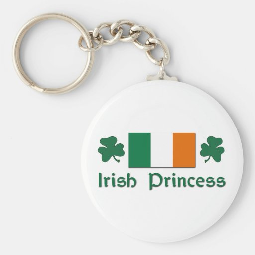 Princesa irlandesa llaveros personalizados