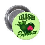 Princesa irlandesa pins