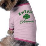 Princesa irlandesa ropa de perros