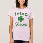 Princesa irlandesa T-Shirt del día de St Patrick Playera