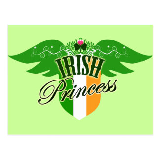 Princesa irlandesa tarjetas postales