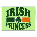 Princesa irlandesa tarjeton