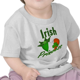 Princesa irlandesa Tiara Camisetas
