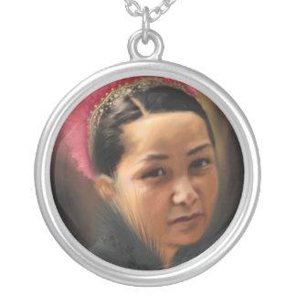 Princesa Iska Colgante Redondo