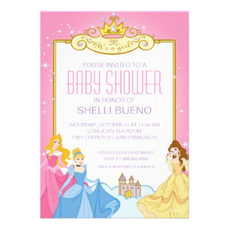Princesa It de Disney es una fiesta de bienvenida Comunicado Personal