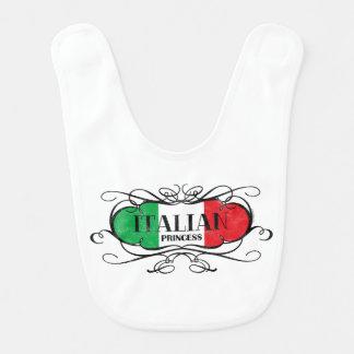 Princesa italiana baberos