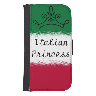 Princesa italiana billetera para galaxy s4